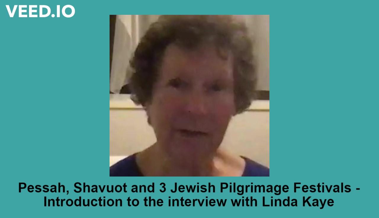 Linda Kaye – 3 Jewish Pilgrimages