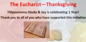 The Eucharist – Overview